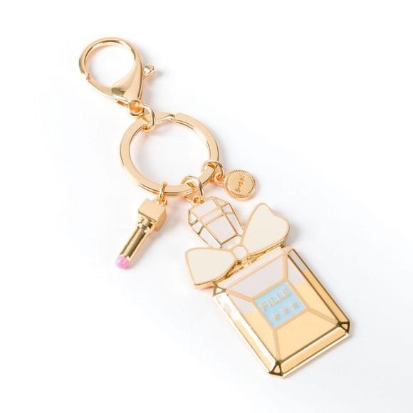 NIQUEA.D Accessories - NIQUEA.D Ombre Perfume Bottle Keychain